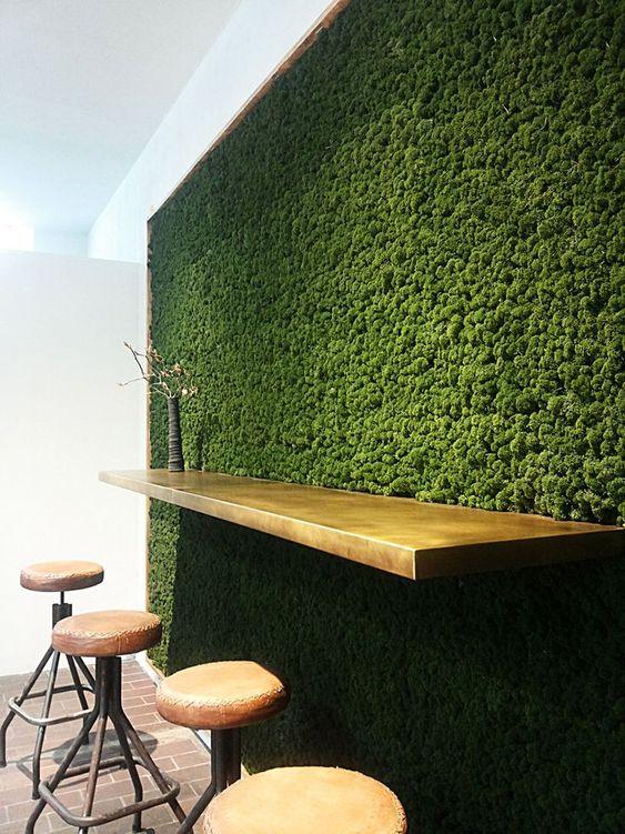 Betere Mosmuur | Mosmuur op kantoor | Groen op kantoor | Loff maatkantoren VB-74