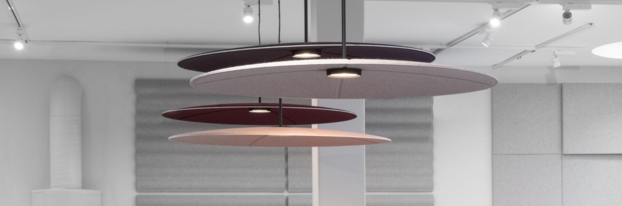 akoestische-verlichting-plafondpanelen-lily-akoestiek-abstracta-loff-maatkantoren