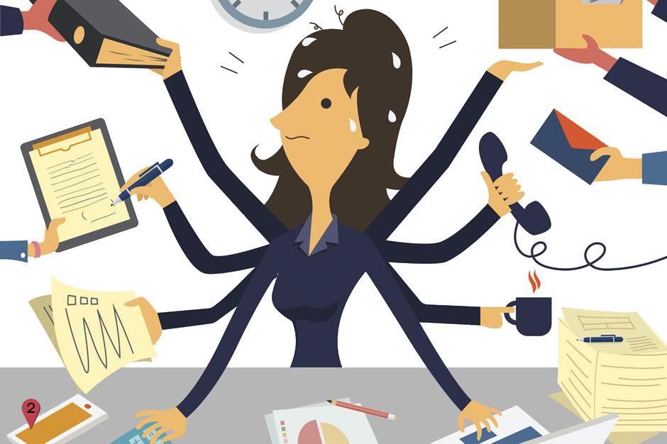 ons denkend brein kan niet multitasken