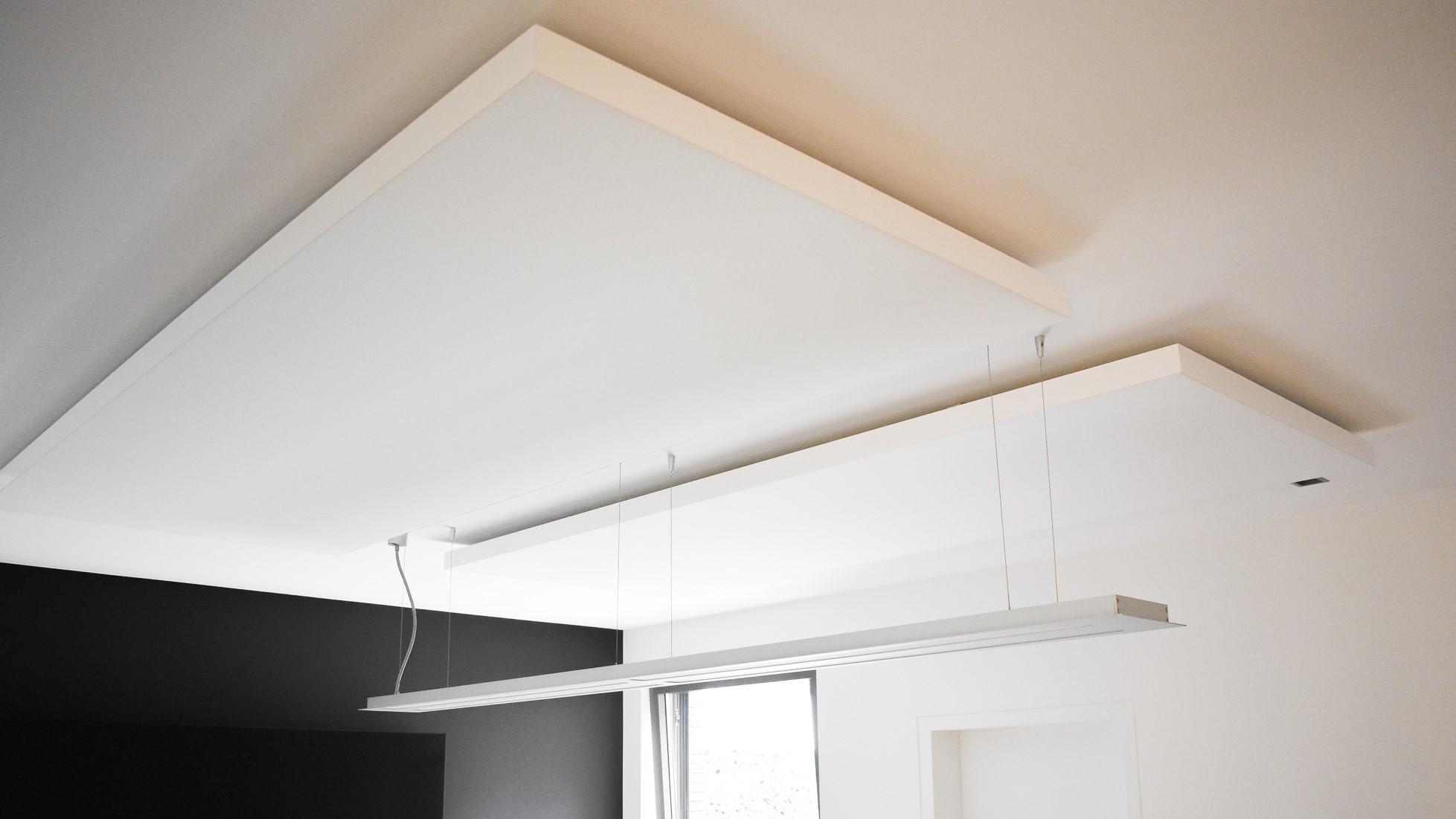 Akoestisch plafondpaneel - Embo Referentie Loff
