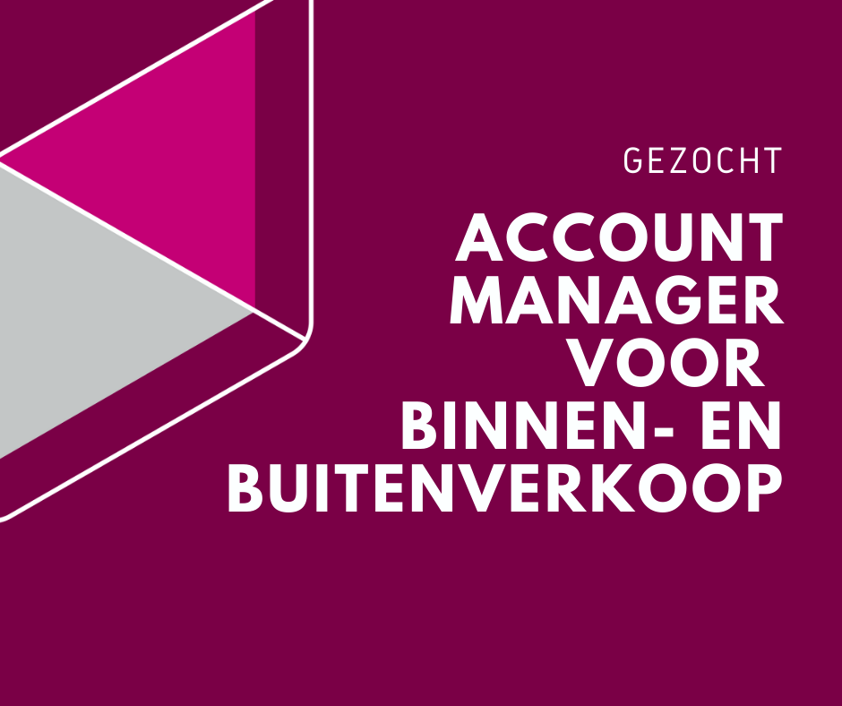 vacature account manager