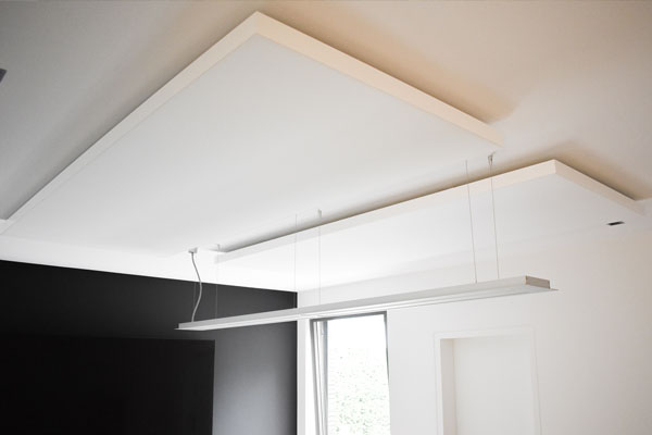 akoestische oplossingen plafondpanelen