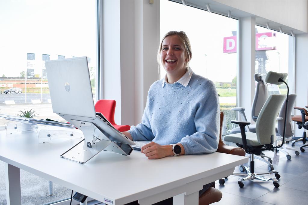 Ergonomische bureaustoelen Julie crombe