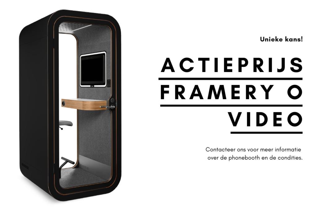 Framery O videoconferentie stockmodel Loff maatkantoren