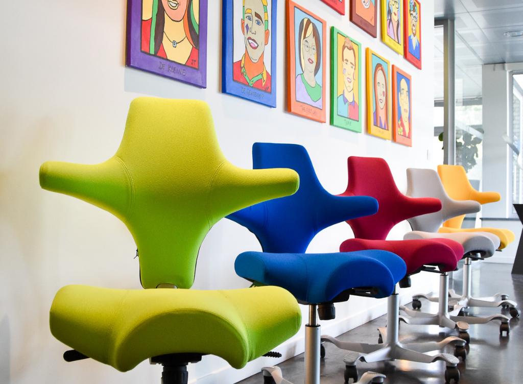 Groep De Meyer - ergonomische bureaustoelen